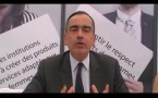 """Vidéo Sommet: """"le numérique au service du développement et de la diversité culturelle"""" (France)"""
