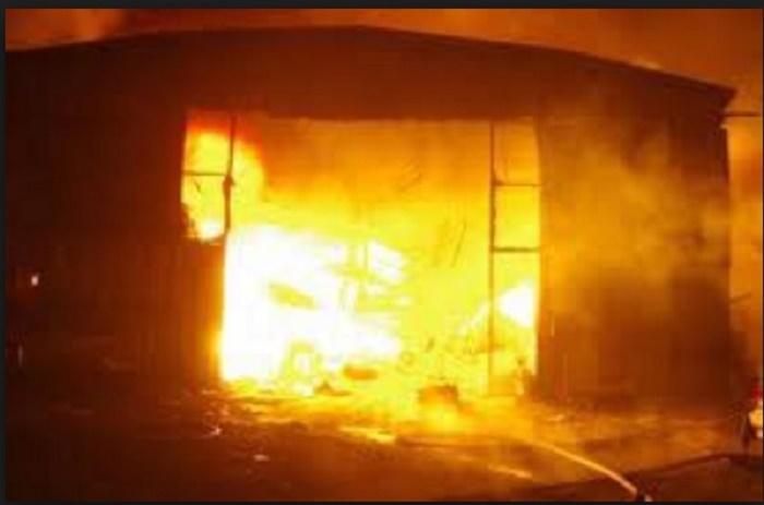 Urgent:Touba Sandaga menacé par les flammes