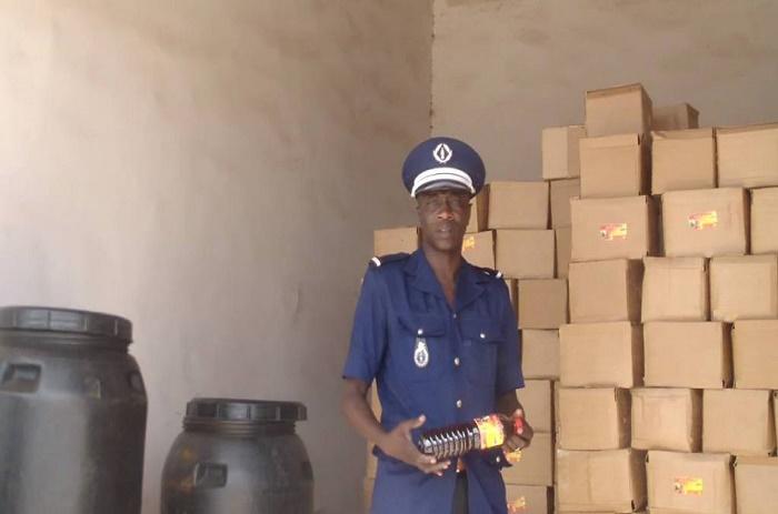 Louga : Saisie de 19 tonnes de vinaigres impropres à la consommation par la gendarmerie