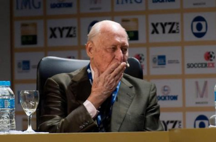 Joao Havelange, ancien président de la Fifa, est décédé à l'âge de cent ans