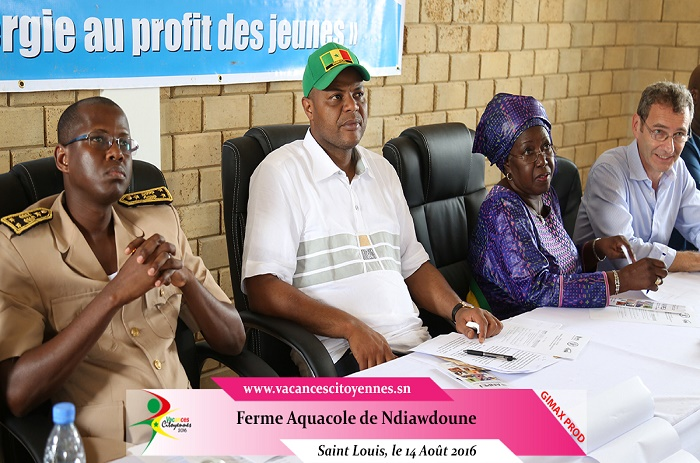Saint-Louis: Mame Mbaye Niang inaugure la ferme aquacole de Ndiawdoune