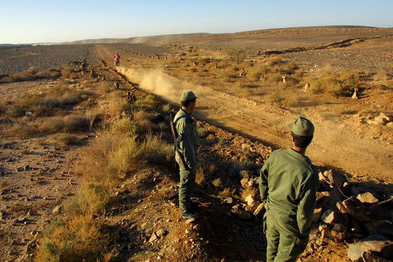 Mouvements de troupes à la frontière entre le Maroc et la Mauritanie
