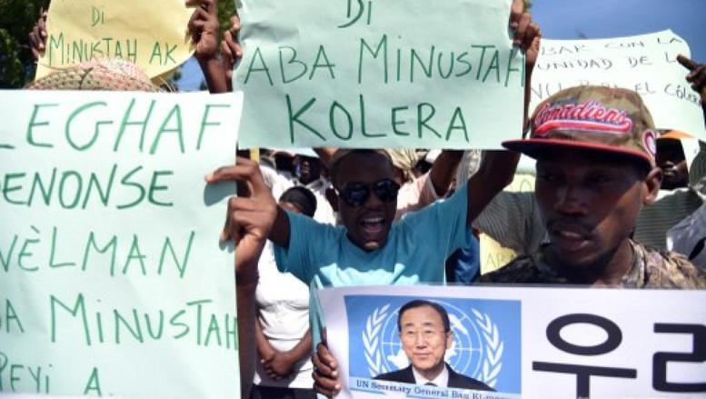 L'ONU admet avoir joué un rôle dans l'irruption du choléra en Haïti