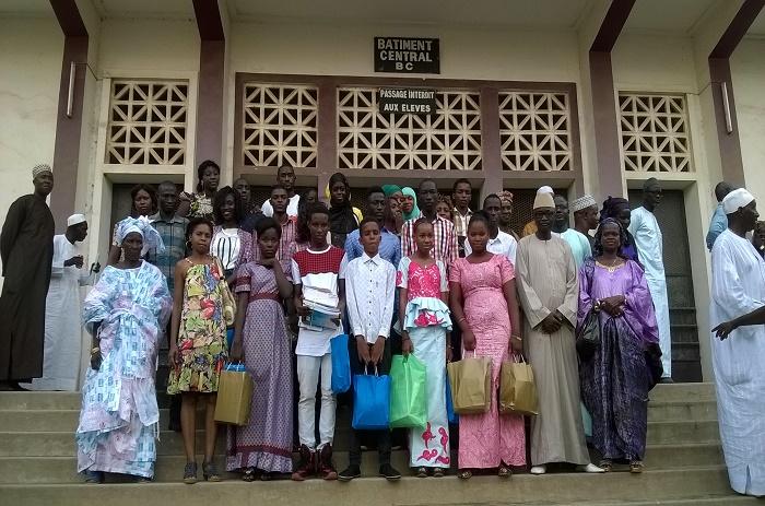 Les anciens du Lycée Lamine Guèye fêtent l'excellence et s'engagent à…
