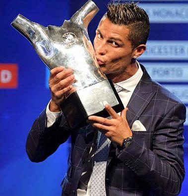 Joueur UEFA : CR7 se dit fier et remercie ses coéquipiers du Real Madrid et du Portugal