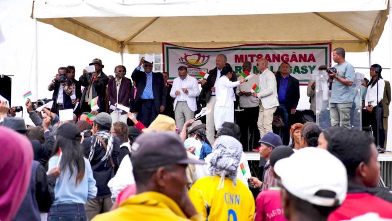 Madagascar: franc succès pour la nouvelle plate-forme d'opposition au gouvernement