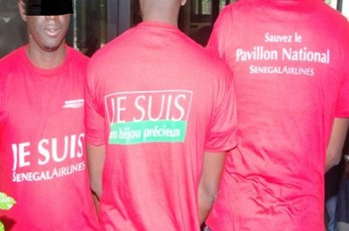 Sénégal Airlines : Les travailleurs entament une grève de la faim à 10 heures
