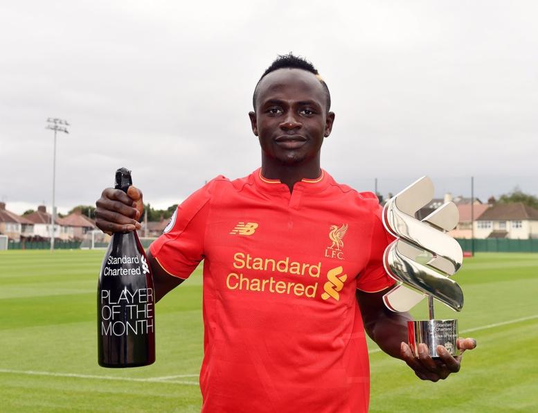 Liverpool : Sadio Mané élu footballeur du mois (VIDEO)