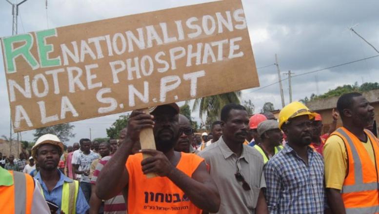 Togo: les employés dans les mines de phosphate sont en colère