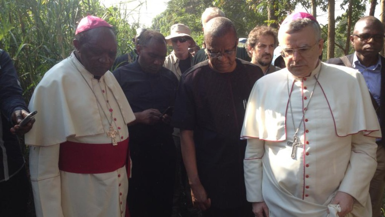Le nonce apostolique en RDC reçu par le pape au Vatican