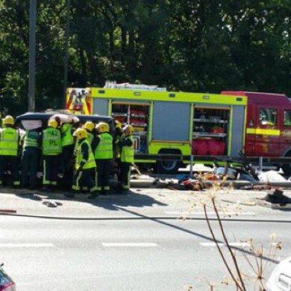 Angleterre : Pape Ndiaye Souaré victime d'un violent accident de la route
