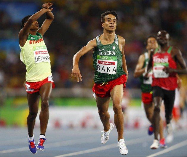 """Jeux paralympiques de Rio : Abdellatif Baka un non voyant, champion plus rapide que les """"valides"""" à Rio"""
