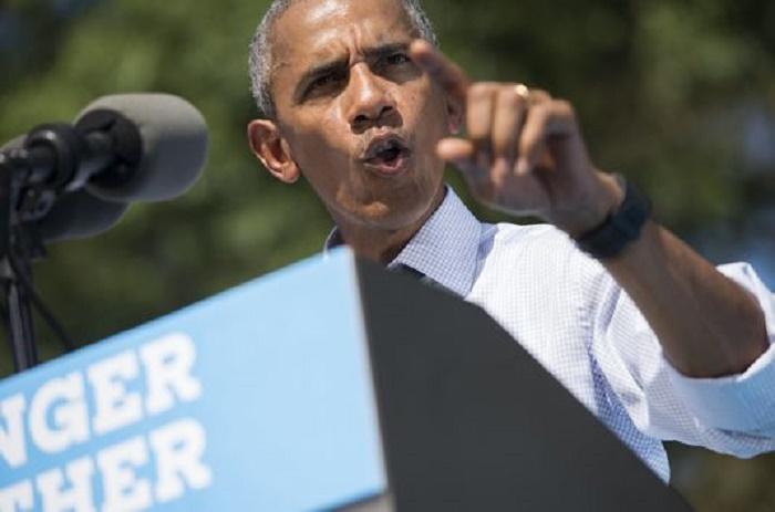Obama met son bilan et sa popularité au service d'Hillary Clinton