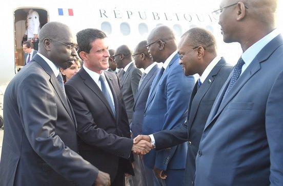 Manuels Valls à Dakar depuis hier: les retombées d'une visite