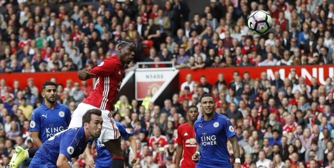 Premier but pour Paul Pogba avec Manchester United