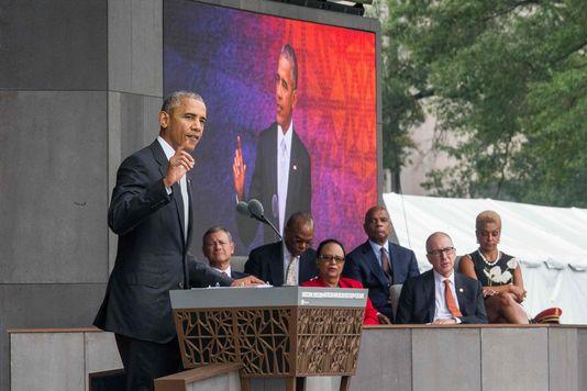 Etats-Unis : Barack Obama inaugure le musée national afro-américain