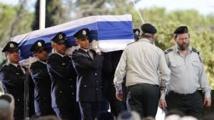 Israël: le cercueil de Shimon Peres mis en terre à Jérusalem