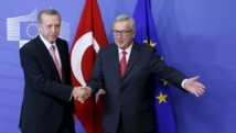 UE-Turquie: la colère de M. Erdogan agace à Bruxelles