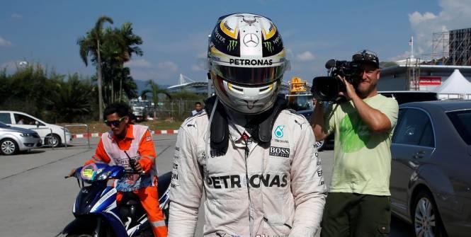 Lewis Hamilton: «Quelqu'un ne veut pas que je gagne cette année»