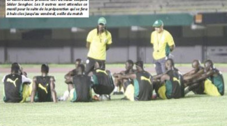 Premier Galop des «Lions»: les supporters huent Mbaye Niang et encensent Diao Baldé Keïta