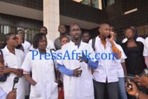 Le Sit in des médecins en spécialisation porte ses fruits: négociation avec le ministère de la Santé