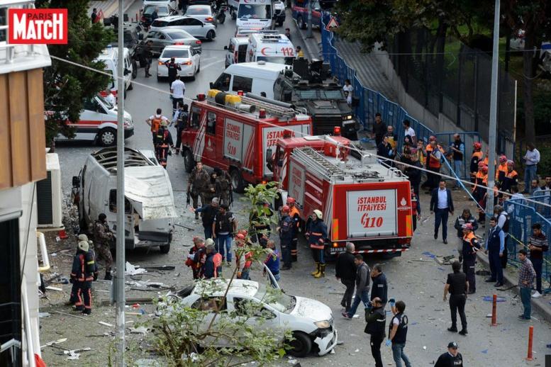 Istanbul : au moins 10 blessés dans une explosion, une femme arrêtée