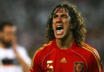 Espagne, Puyol prend la défense de Piqué
