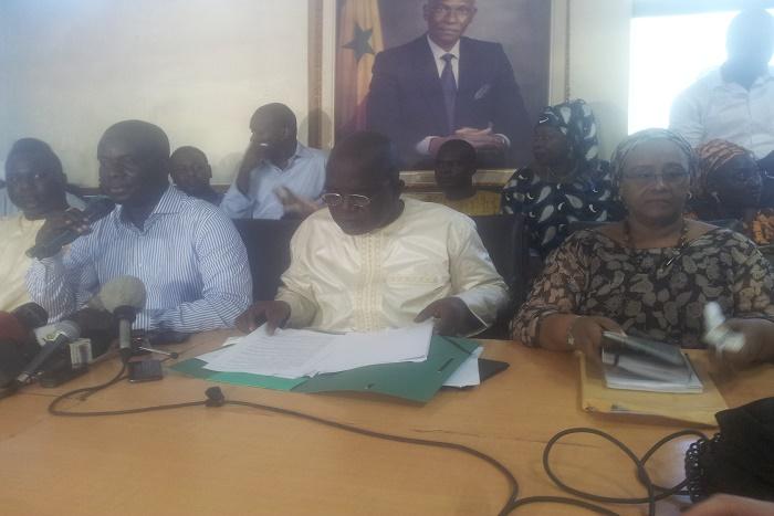 Oumar Sarr : « Macky Sall veut créer un antagonisme lourd de danger pour… »