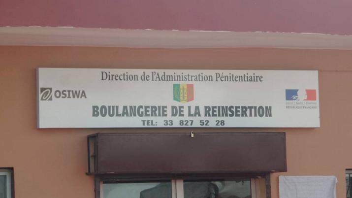 Camp pénal Liberté 6 : Inauguration de la boulangerie de la réinsertion par le ministre de la Justice
