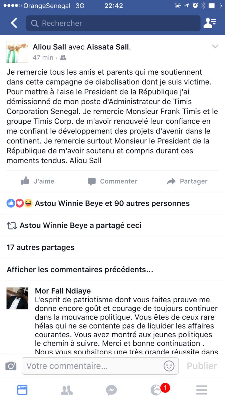 Face à la pression, Aliou Sall lâche Petro Tim Sénégal pour Timis Corp Afrique