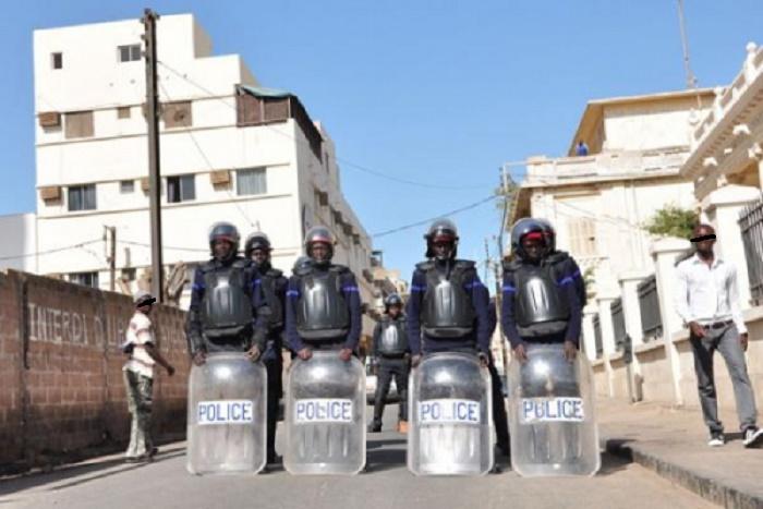 Menaces sur la marche de Mankoo Wattù Senegaal : Après la décision du Préfet, les forces de l'ordre quadrillent le centre-ville