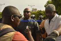 """Marche Wattu Senegal: Abdoul Mbaye sous les """"vapes"""" des lacrymogène, Barthélémy Dias blessé"""