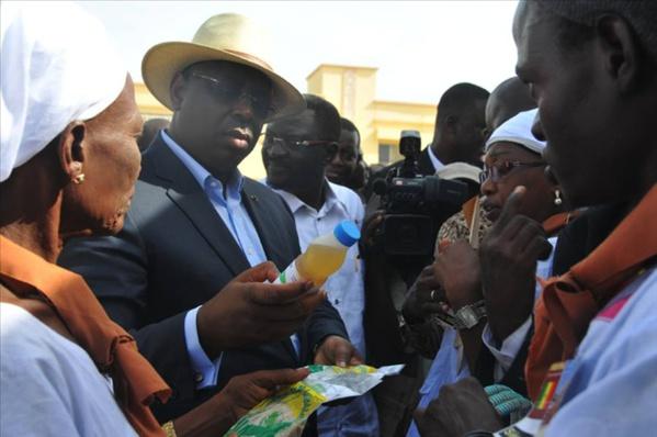 """Tournée économique du président Macky Sall: """"Mankoo Watù Senegaal"""" se dresse à Kaolack"""