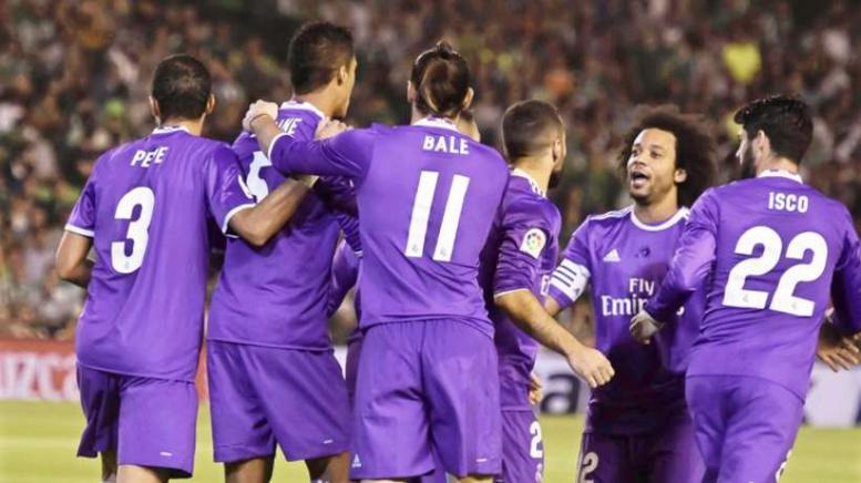 Liga : le Real Madrid humilie sévérement le Betis Seville