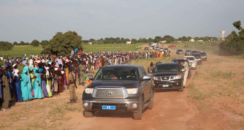 Déplacement à l'intérieur du Sénégal: La nouvelle tactique de camouflage de Macky