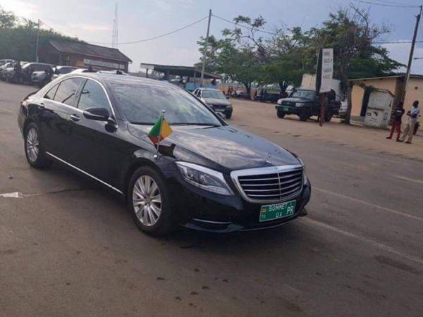 Sommet de l'UA: Le président Patrice Talon se rend au Togo en voiture et séduit les internautes
