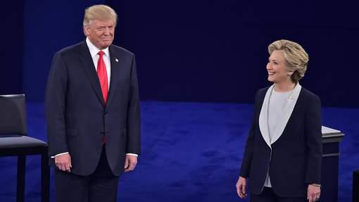 Dernier débat entre Hillary Clinton et Donald Trump