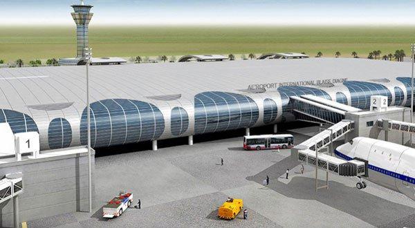 Aéroport International Blaise Diagne: Livraison de l'infrastructure en janvier 2017