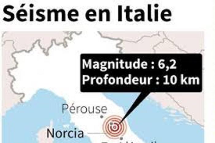 Italie/séisme: pas d'information sur des morts pour le moment (protection civile)