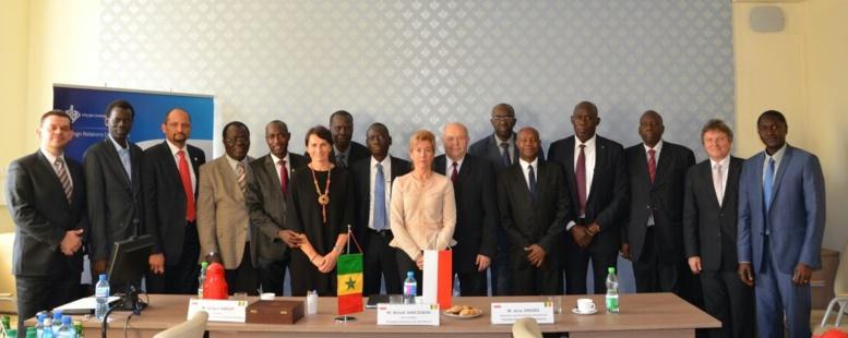 Forum Économique de Varsovie: vers la création d'une Chambre de Commerce du Sénégal en Pologne