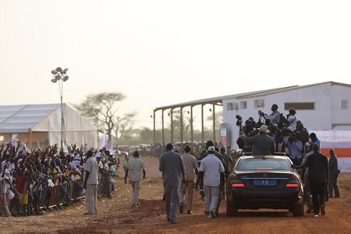 Retour en images sur la cérémonie d'inauguration de la centrale de Malicounda par le président Macky Sall