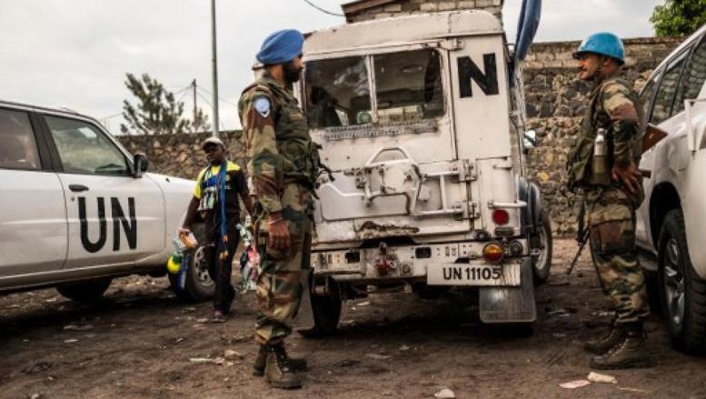 RDC: une explosion tue une fillette et blesse une trentaine de casques bleus