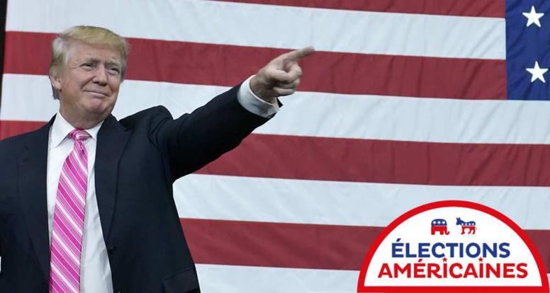 Donald Trump élu 45ème président des Etats-Unis