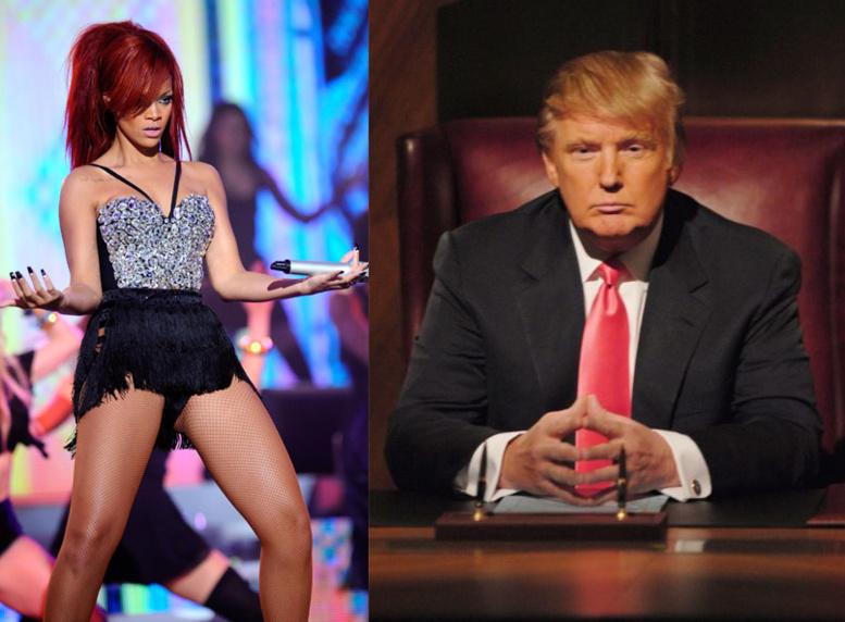 Election de Donald: Choquée, Rihanna exhume une étonnante prémonition de Trump en 1998