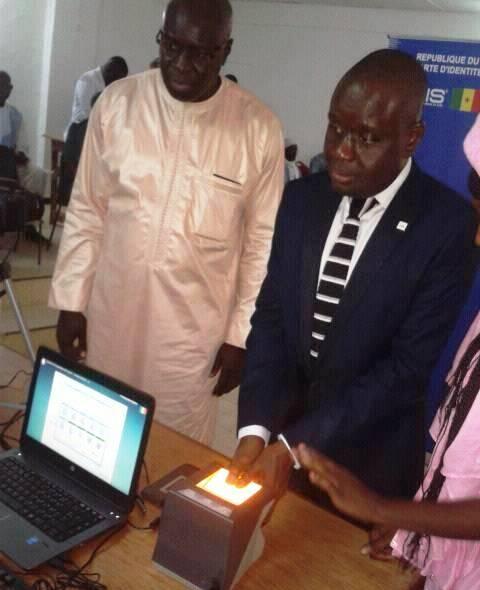 Louga - CNI biométriques CEDEAO: lancement officiel des opérations d'enrôlement