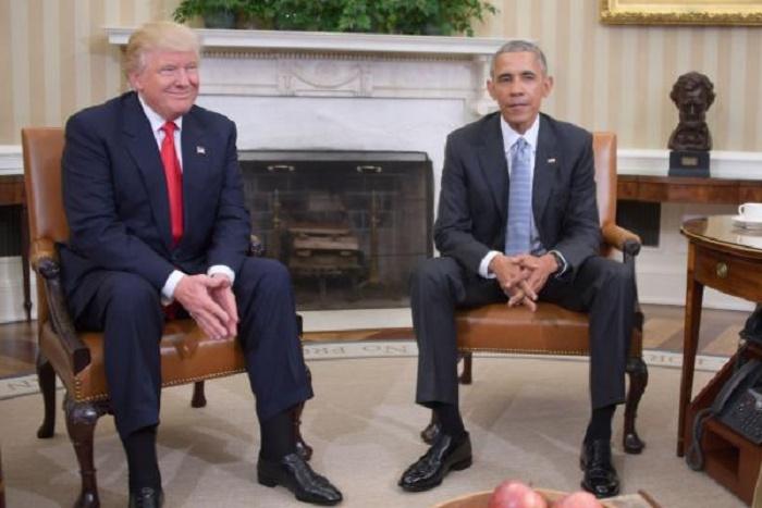 Trump: «Je suis impatient de travailler avec Obama»