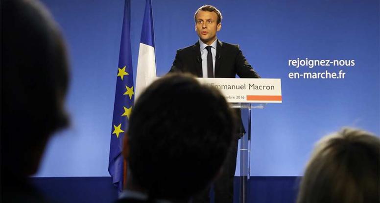 Emmanuel Macron : «Je suis candidat à la présidence de la République»