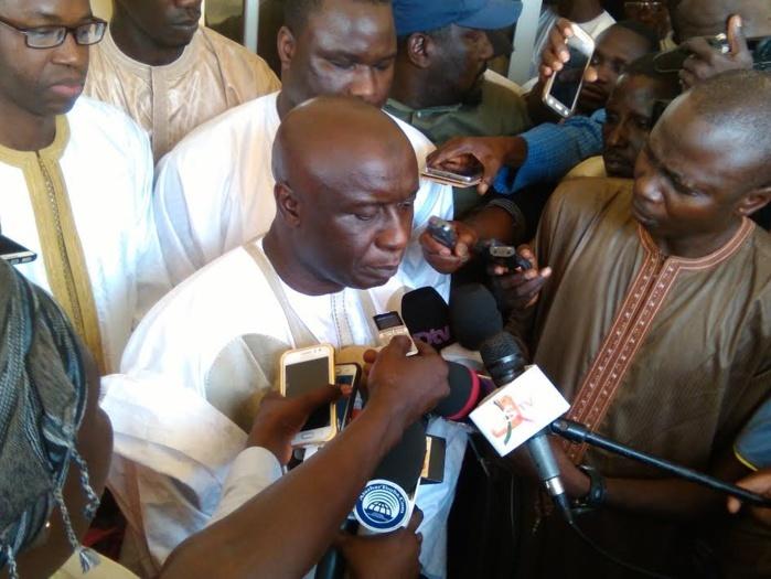"""'L'insécurité a atteint des proportions et une violence jamais connues"""", Idrissa Seck"""