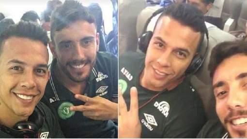 Les dernières images de l'équipe de Chapecoense avant le crash