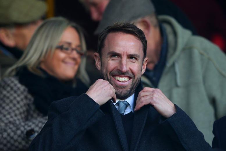 Gareth Southgate, sélectionneur de l'Angleterre pour les 4 prochaines années